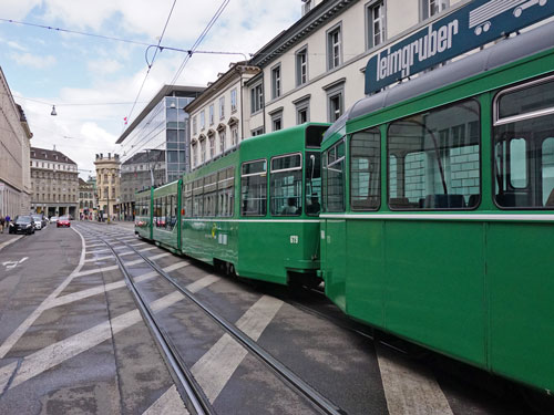 Basel Be4/6 'Guggammere' Tram - www.simplonpc.co.uk - Photo: ©Ian Boyle 26th July 2017