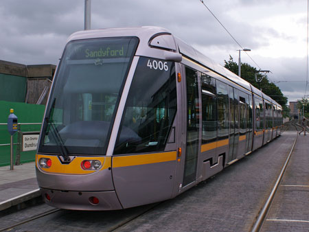 Luas - Dublin Trams - www.simplonpc.co.uk - Simplon Postcards