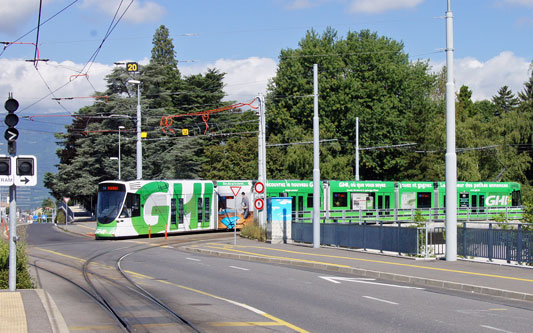 Stadler Tango Tram - Be6/10 - www.simplonpc.co.uk - Photo: ©2014 Ian Boyle