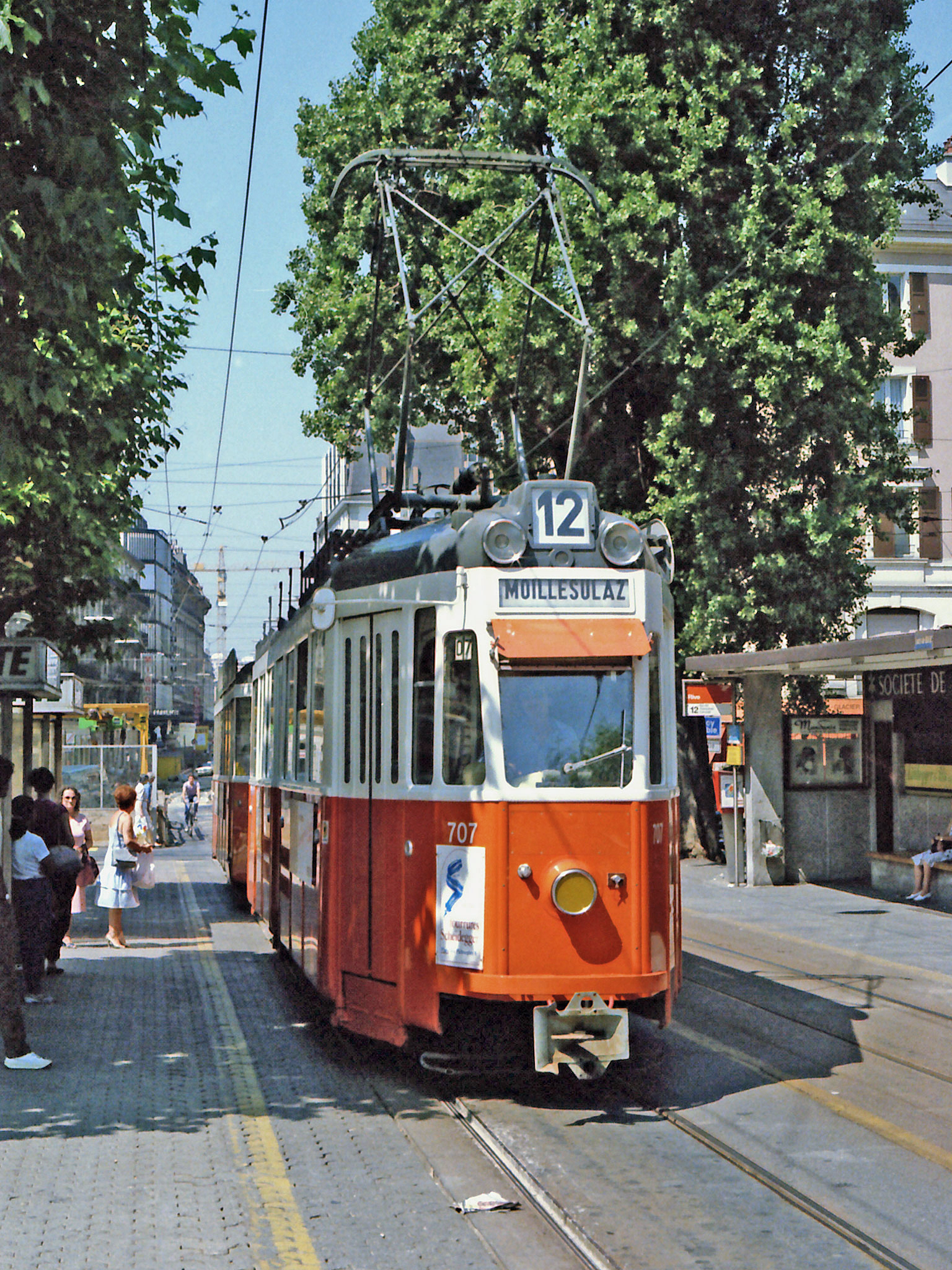 TPG - Geneva Trams, Trolleybuses and Motor Buses - www
