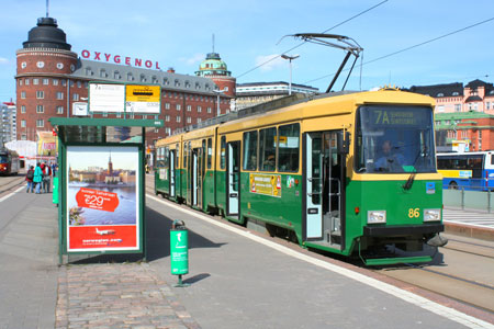 Helsinki Trams - www.simplonpc.co.uk - Simplon Postcards