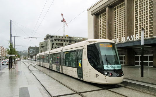 Tramway du Havre - Photo: © Ian Boyle, 14th October 2013 - www.simplonpc.co.uk