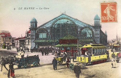 Le Havre Tramway 1894-1951- www.simplonpc.co.uk