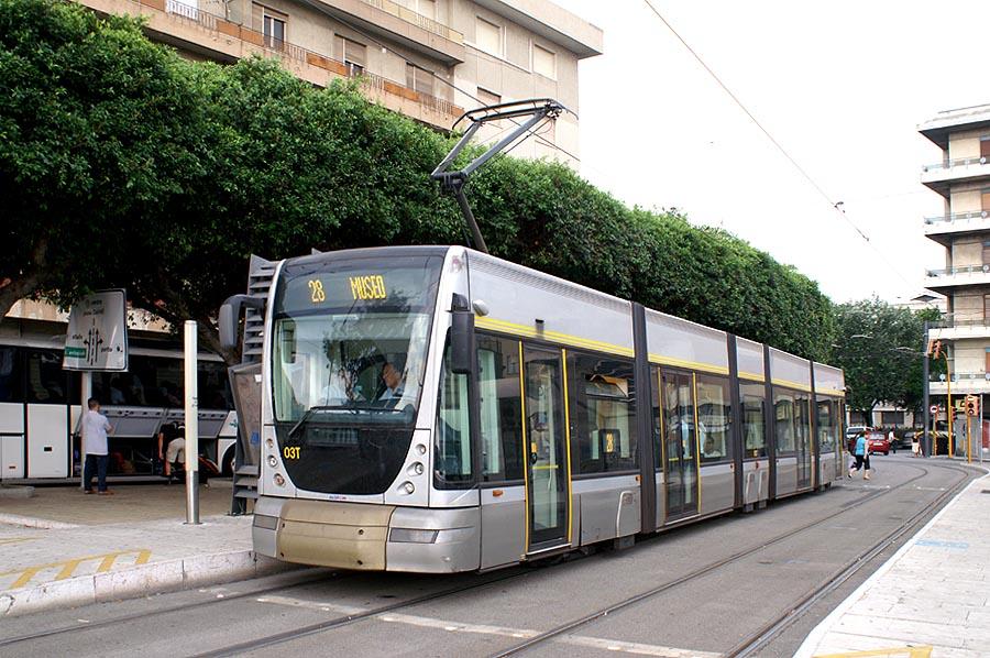 Capoline Sud tram messina