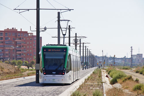 Metro malaga - Photo: © Ian Boyle, 27th September 2014www.simplonpc.co.uk