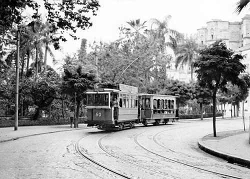 Malaga Trams - www.simplonpc.co.uk