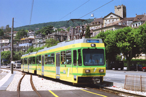 Neuchâtel Trams & Trolleybuses - www.simplonpc.co.uk