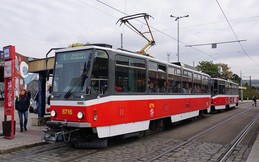 Prague Trams - DPP - www.simplonpc.co.uk