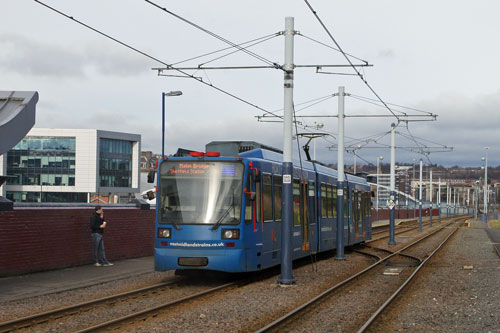 SHEFFIELD SUPERTRAM - www.simplonpc.co.uk - Simplon Postcards