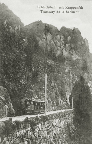 Tramway de Munster à la Schlucht - Simplon Postcards  - www.simplonpc.co.uk