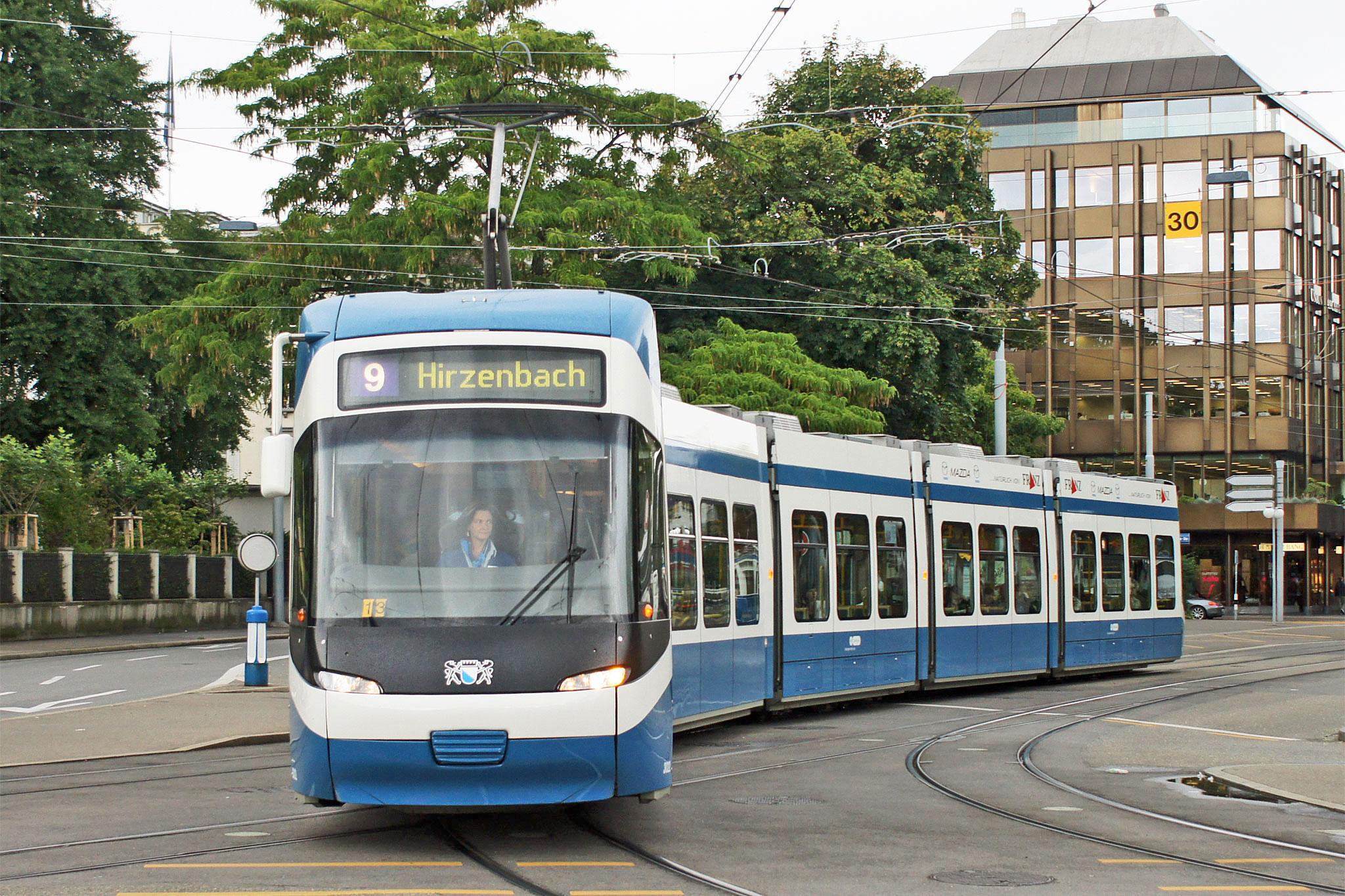 Zürich Trams - Verkehrsbetriebe Zürich (VBZ) - www ...