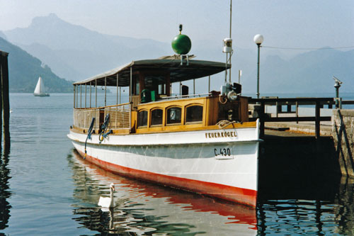 FEUERKOGEL - Traunsee - Photo: ©1989 Ian Boyle - www.simplonpc.co.uk