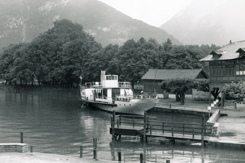 GISELA - Traunsee - Photo: ©1974 Ian Boyle - www.simplonpc.co.uk