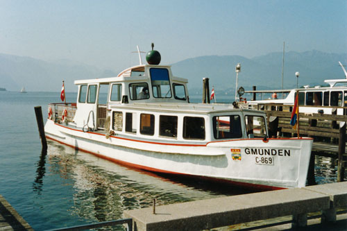 GMUNDEN - Traunsee - Photo: ©1989 Ian Boyle - www.simplonpc.co.uk