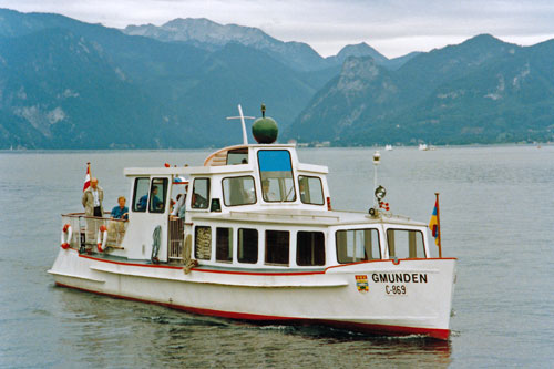GMUNDEN - Traunsee - Photo: ©1991 Ian Boyle - www.simplonpc.co.uk