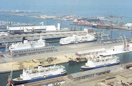 dunkerque ferry port