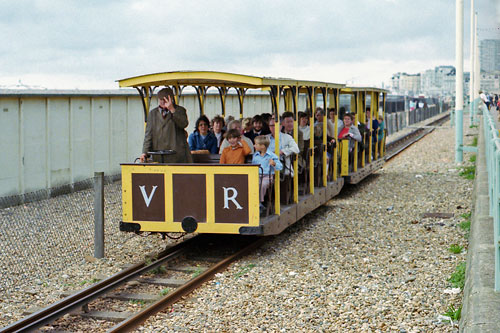 Volks Electric Railway - www.simplonpc.co.uk - Photo: ©1975 Ian Boyle