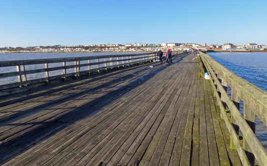 Walton Pier - www.simplonpc.co.uk - Photo: �2013 Ian Boyle
