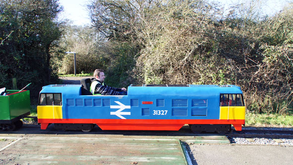 Wat Tyler Miniature Railway - Photo: © Ian Boyle, 2nd December 2012 -  www.simplonpc.co.uk