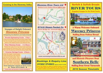 2010 Waveney timetable