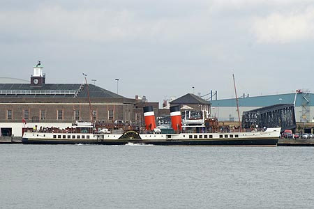 PS WAVERLEY - Waverley Excursions - www.simplonpc.co.uk - Photo: © Ian Boyle, September 2006