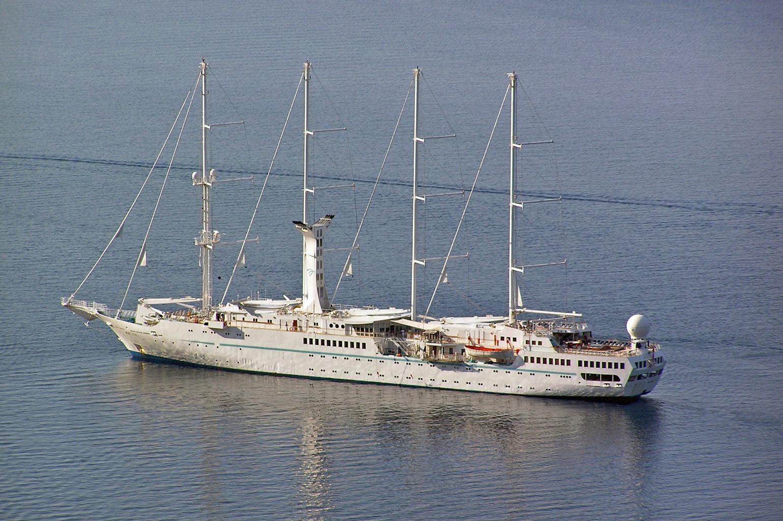 Windstar Cruises Simplon Postcards - Wind spirit