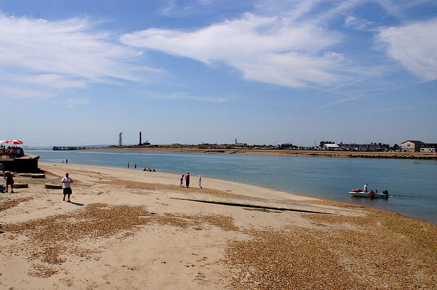 Ferry Beach Hayling Island