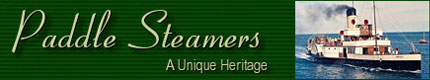 PADDLE STEAMERS - A Unique Heritage - www.heritagesteamers.co.uk