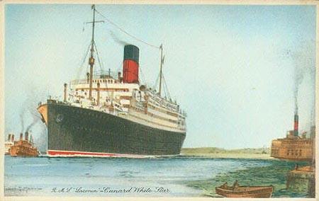 RMS Laconia (Simplon Post Cards)